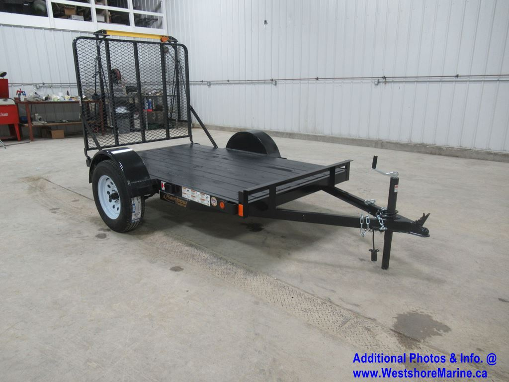 New 2020 RAINBOW TRAILERS 5x8 3500lb