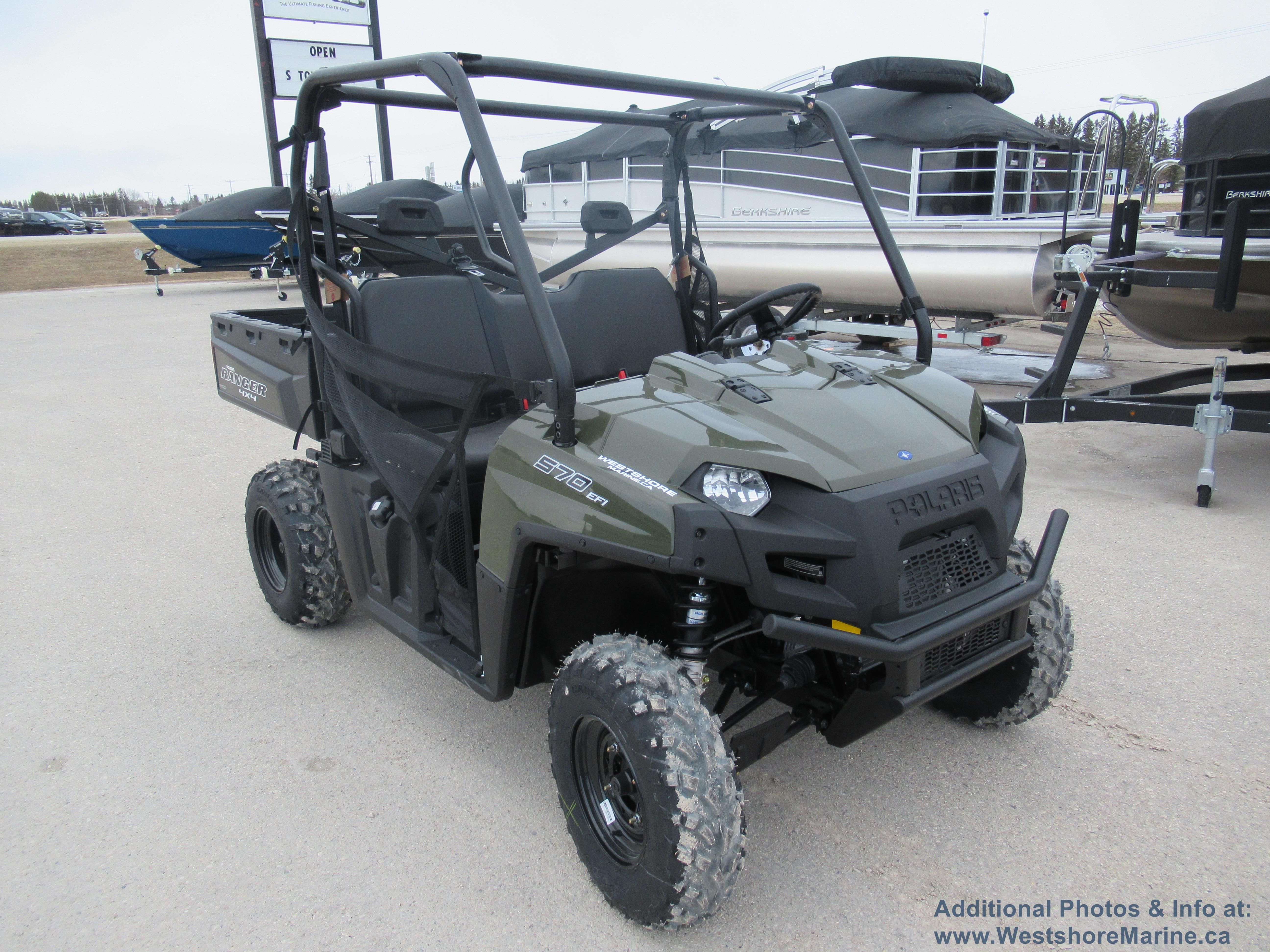 New 2019 Polaris RANGER 570 FULL-SIZE - INMOLD SAGE GREEN