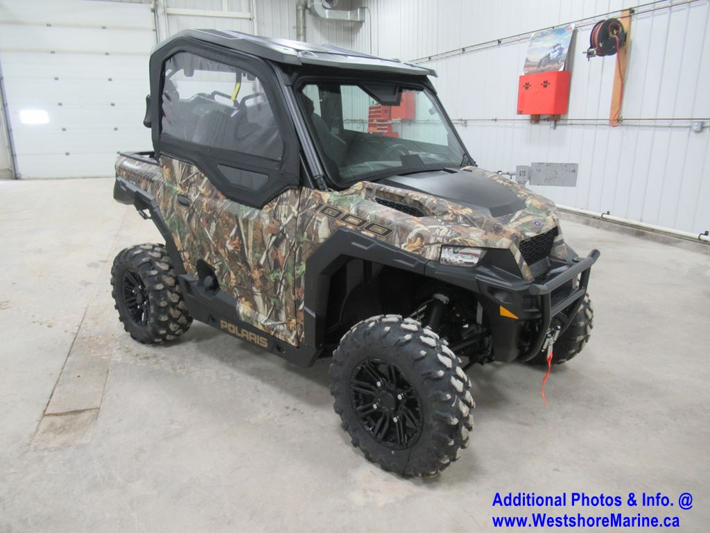 New 2019 Polaris POLARIS GENERAL 1000 EPS HUNTER EDITION