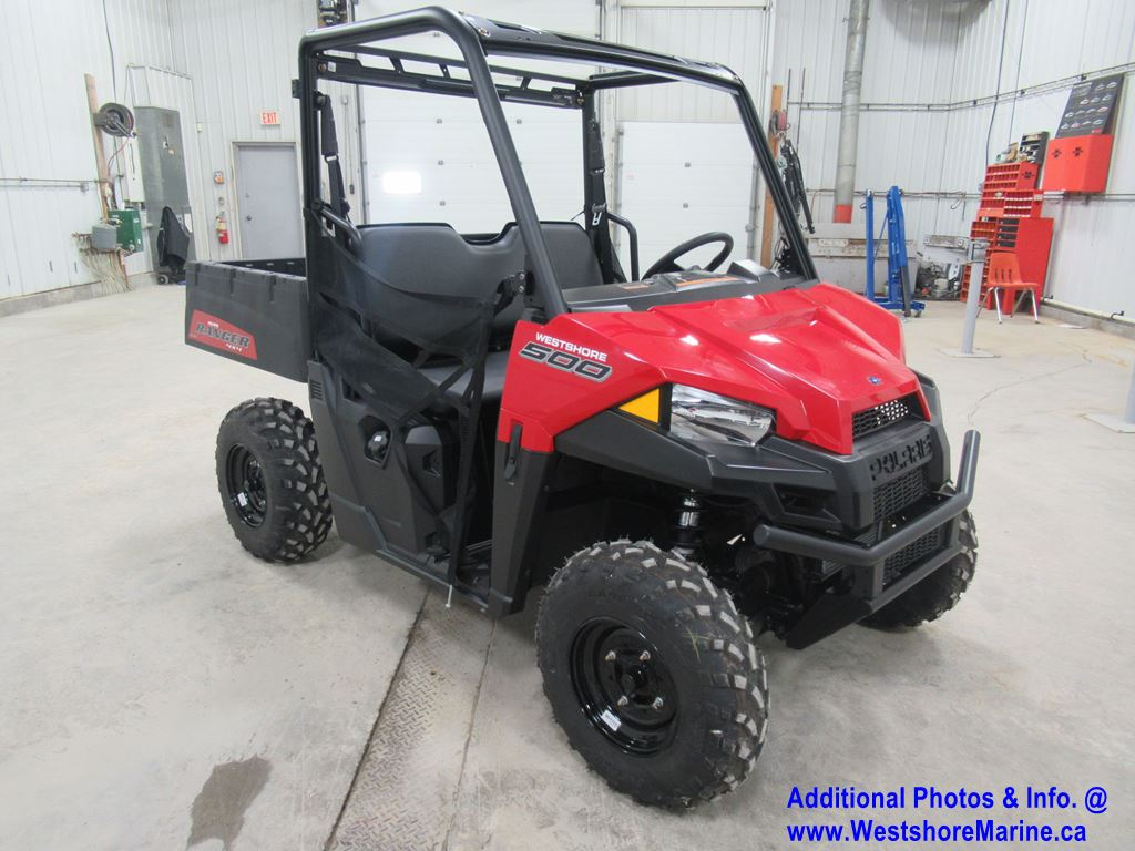 New 2019 Polaris RANGER 500 - SOLAR RED w/ 2 YEAR WARRANTY! Inc. Set Up