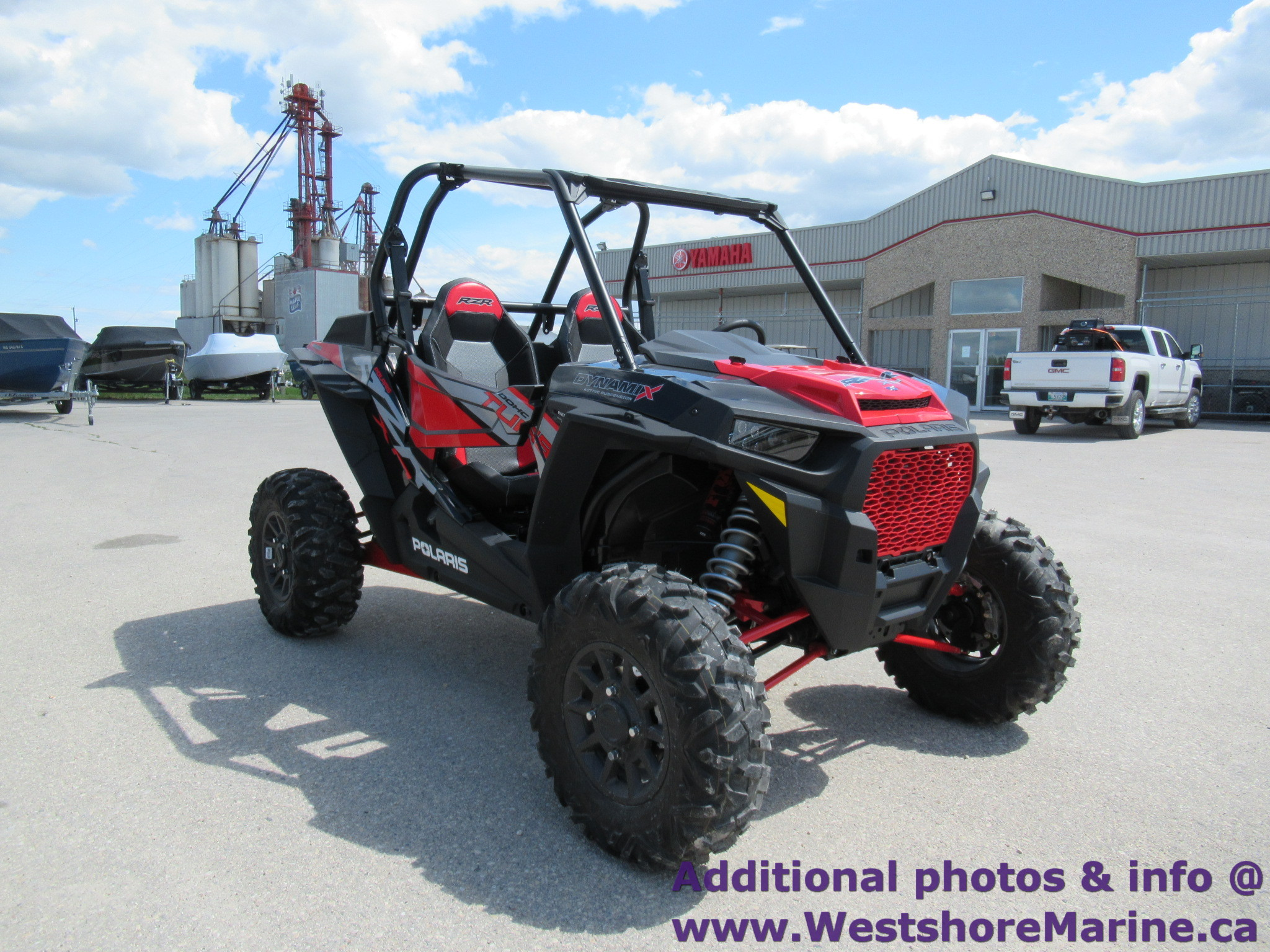 New 2018 Polaris RZR XP TURBO EPS WITH RIDE COMMAND AND DYNAMAX