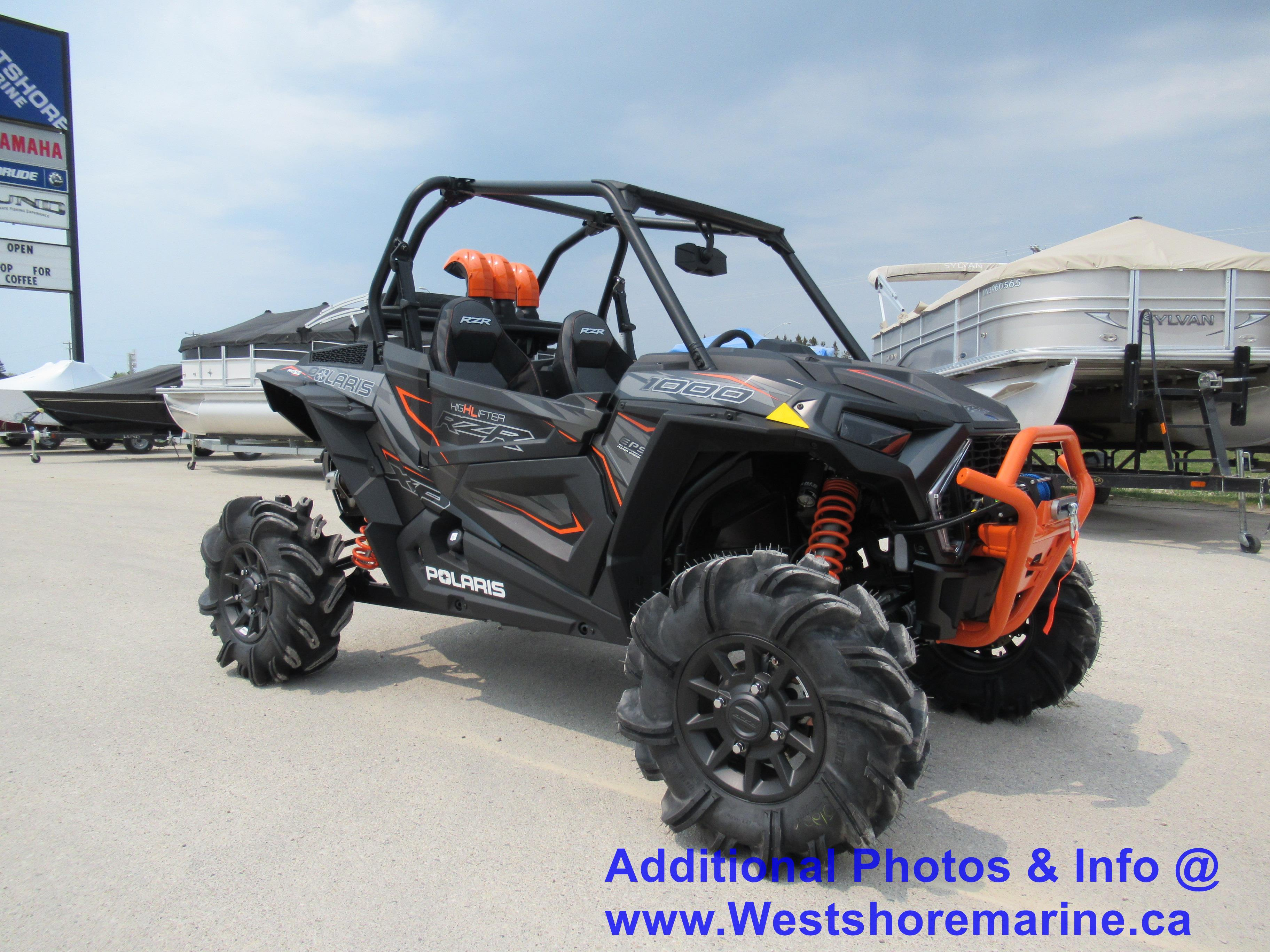 New 2019 Polaris RZR HIGHLIFTER 1000
