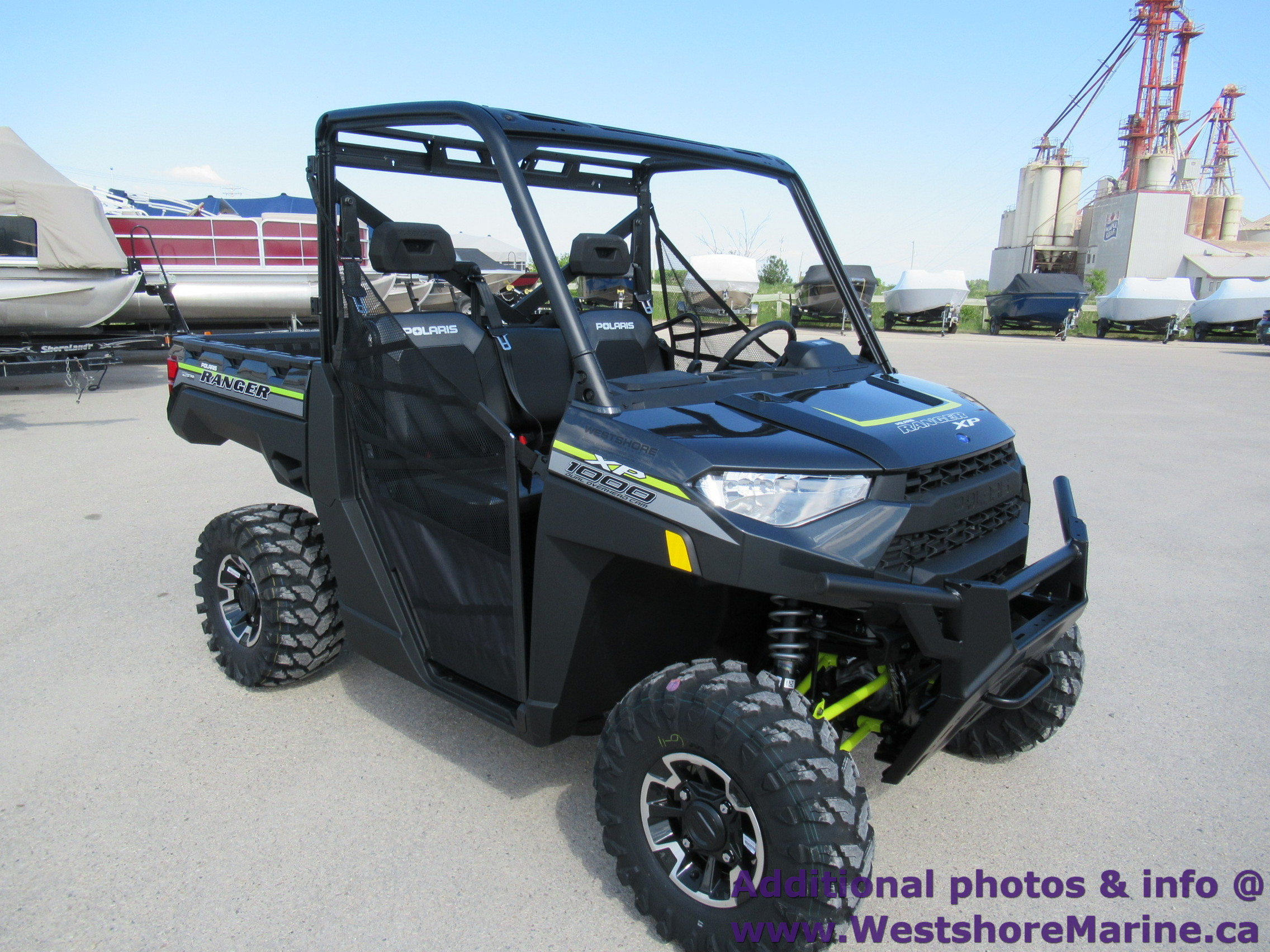 New 2019 Polaris RANGER XP 1000 EPS - PAINT MAGNETIC GREY