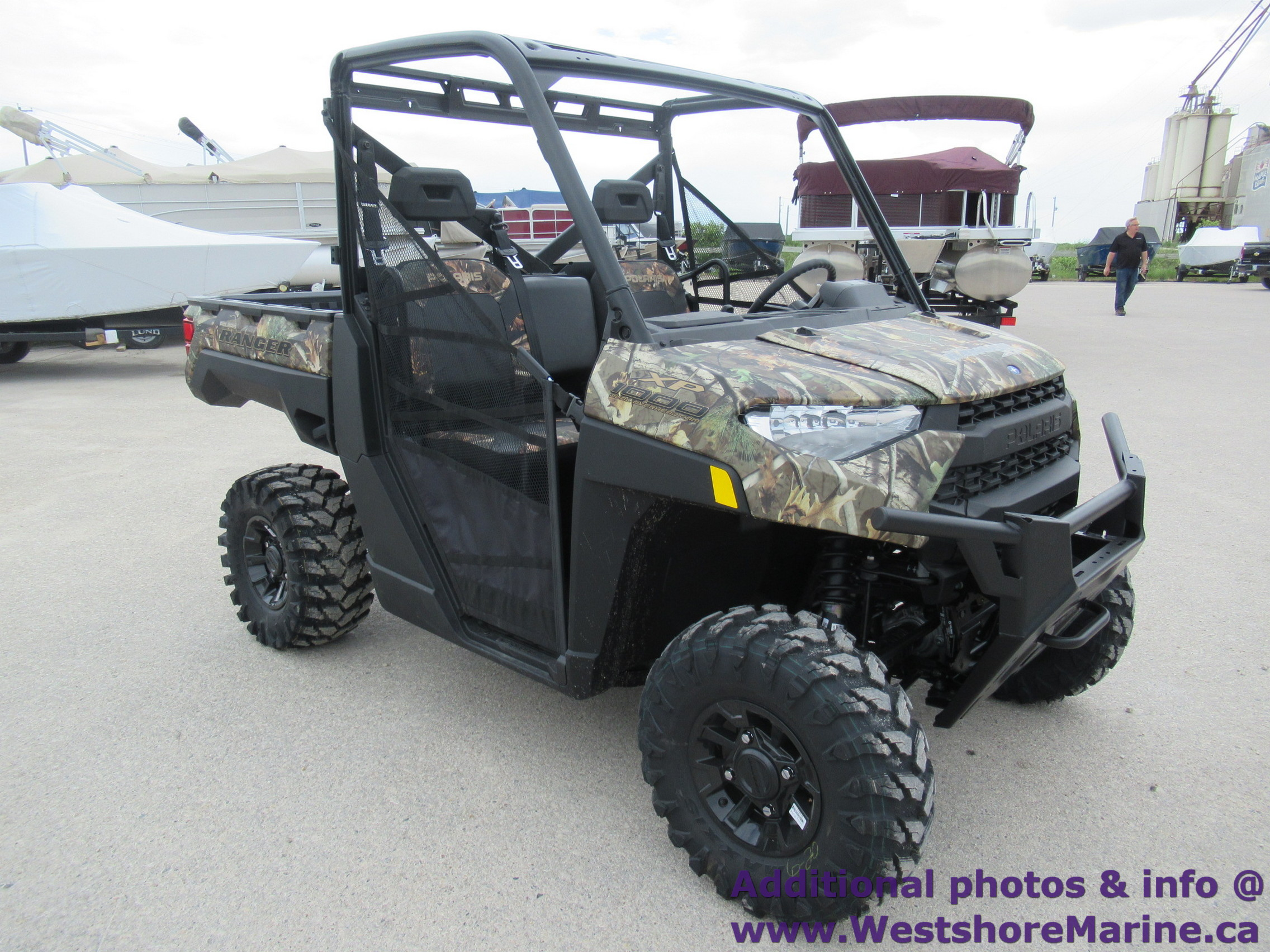 New 2019 Polaris RANGER XP 1000 EPS POLARIS PURSUIT CAMO