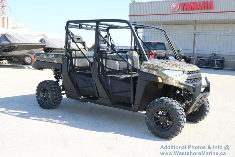 New 2019 Polaris RANGER CREW XP 1000 EPS PPC