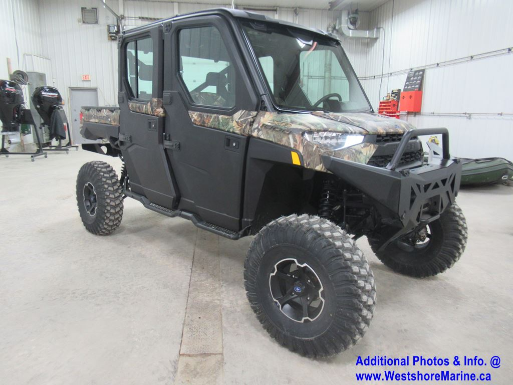 New 2019 Polaris RANGER CREW XP 1000 EPS POLARIS PURSUIT CAMO
