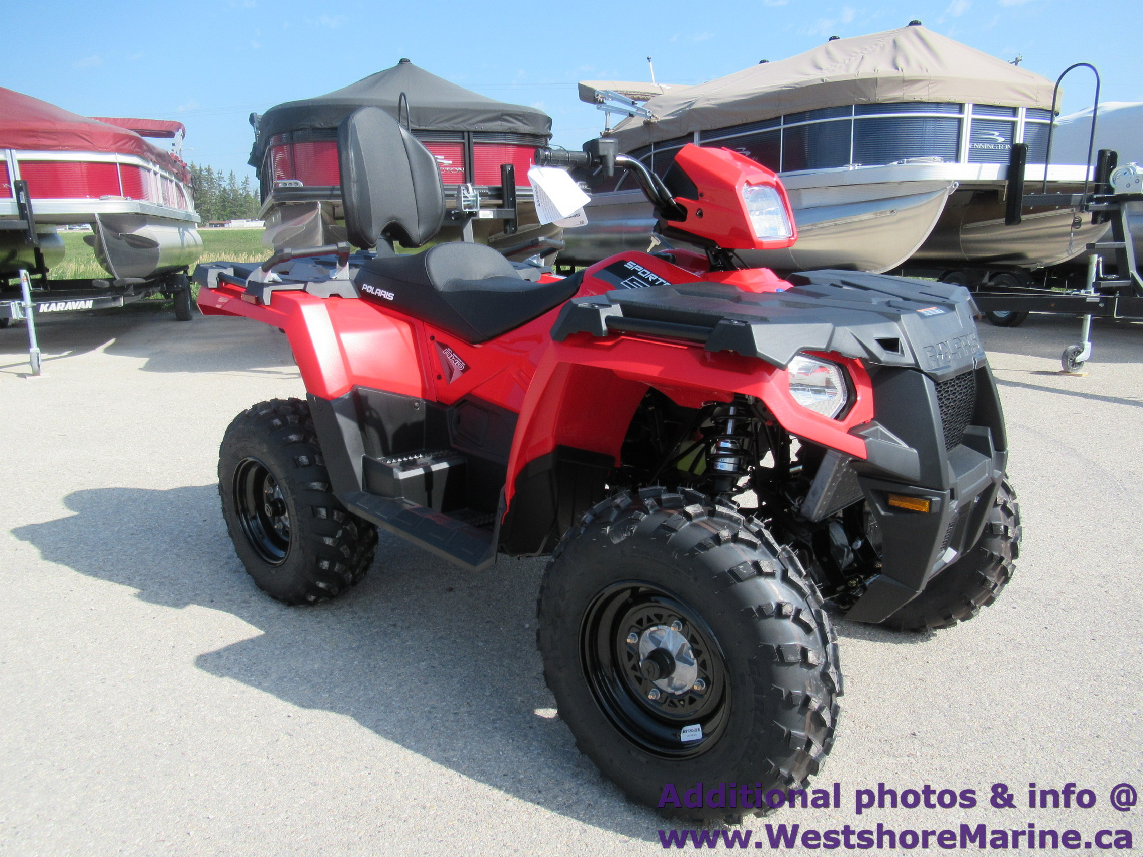 New 2019 Polaris 570 SPORTSMAN TOURING 2 SEAT ATV