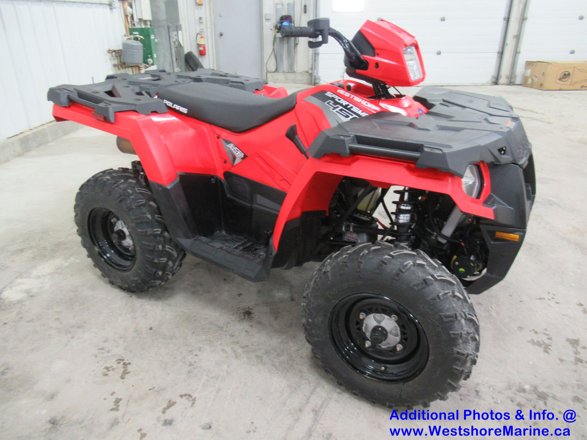 New 2019 Polaris 450 SPORTSMAN H.O - Free 3 Year Warranty!