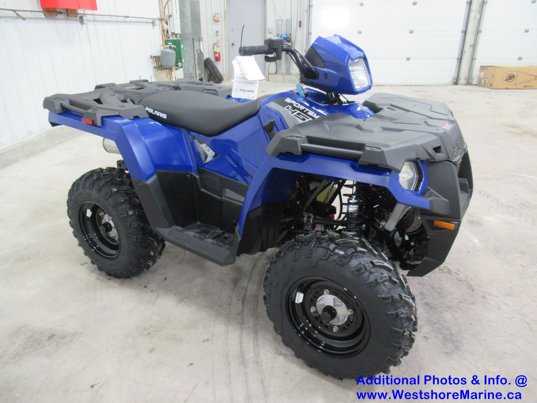 New 2020 Polaris SPORTSMAN 450 H.O. SONIC BLUE