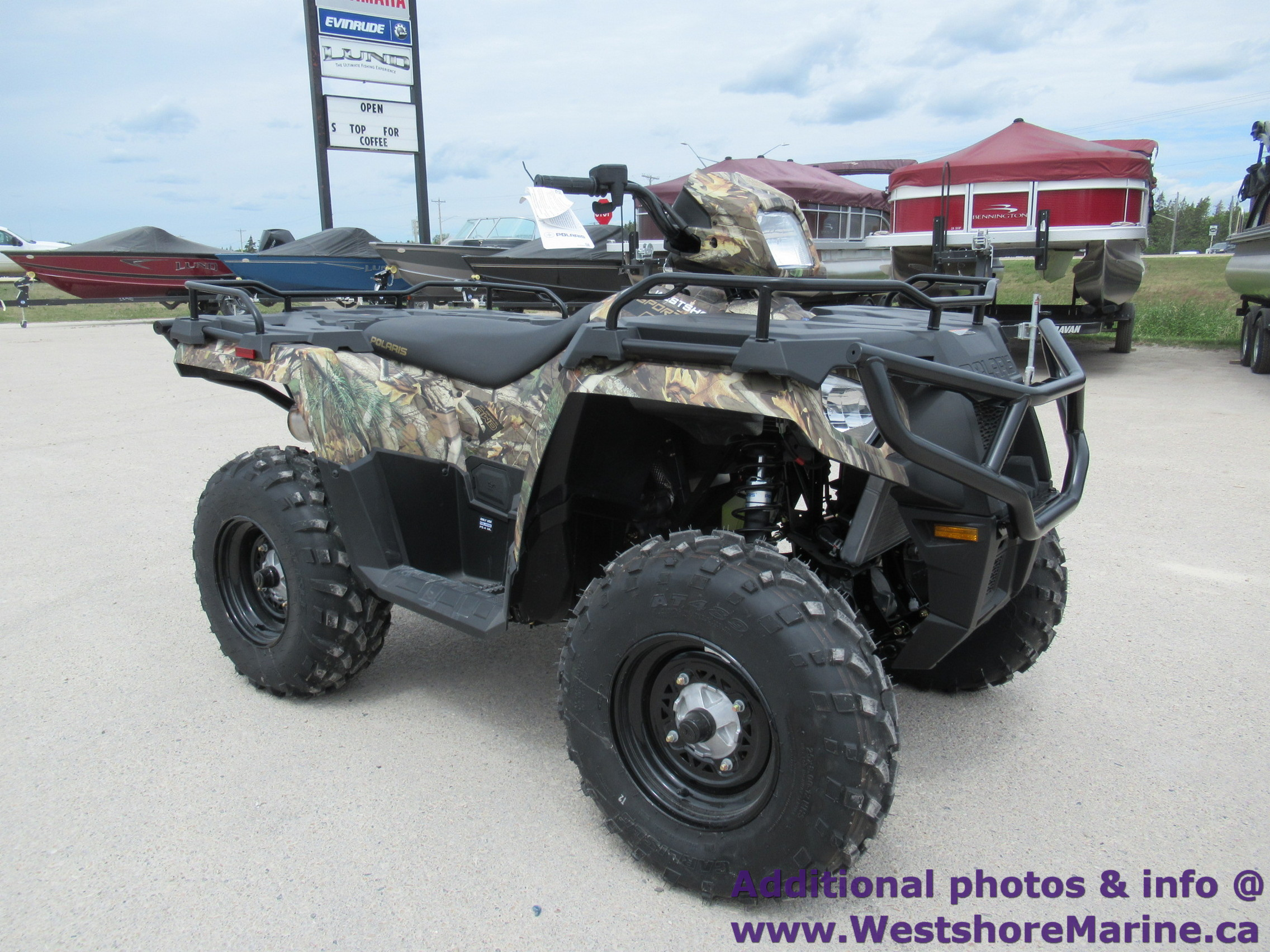 New 2019 Polaris SPORTSMAN 570 POLARIS PURSUIT CAMO
