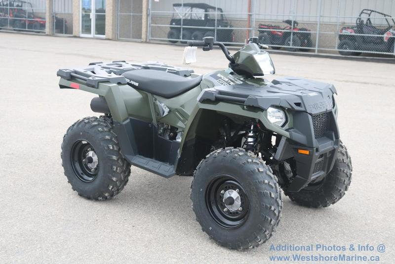 New 2017 Polaris Sportsman 570 - Green