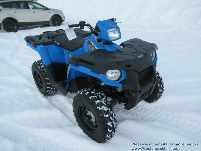 New 2019 Polaris 570 SPORTSMAN VELOCITY BLUE POWER STEERING & 3 YEAR WARRANTY!