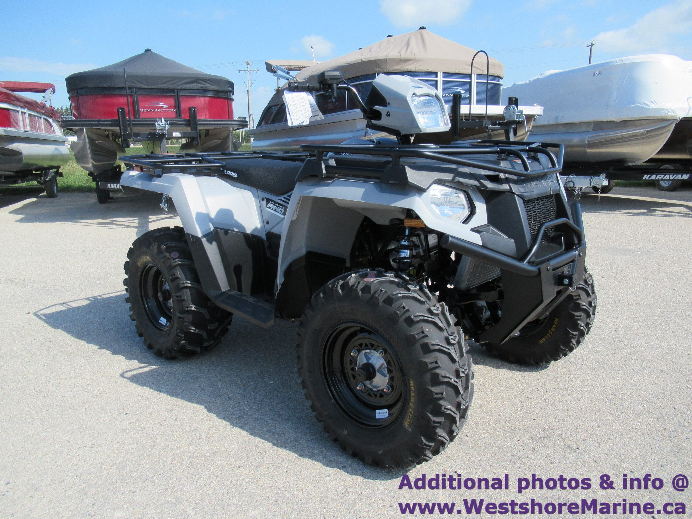 New 2019 Polaris 570 SPORTSMAN UTILITY GHOST GREY W/ EPS & 3 YEAR WARRANTY!