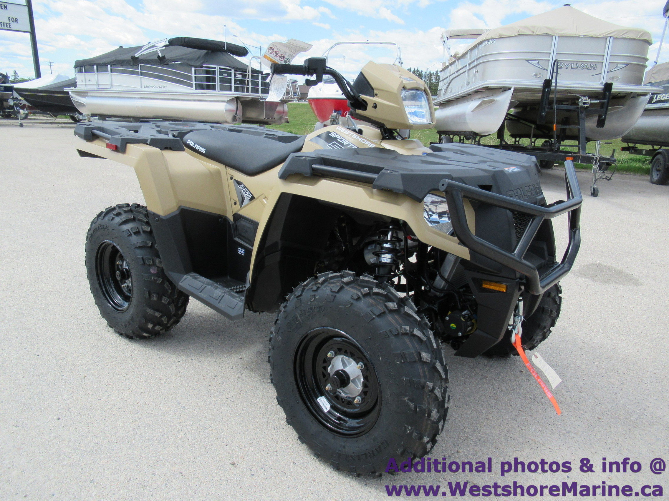 New 2019 Polaris SPORTSMAN 570 LIMITED EDITION POWER STEERING TAN