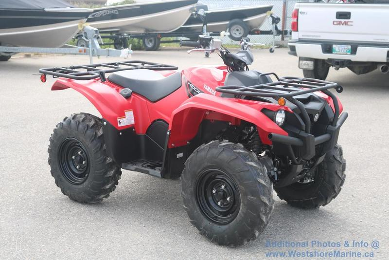 New 2018 Yamaha Kodiak 700