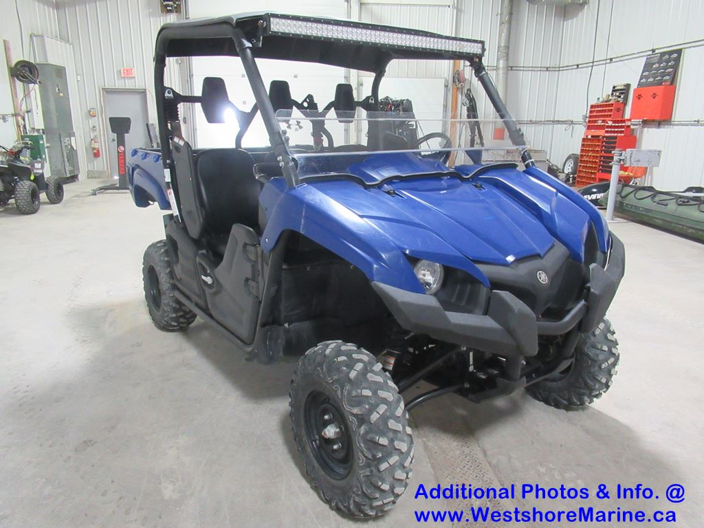 Pre-Owned 2017 YAMAHA Viking 700 w/ Power Steering