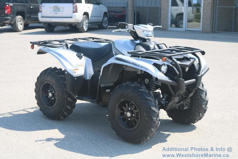 New 2018 Yamaha Kodiak 700 EPS SE