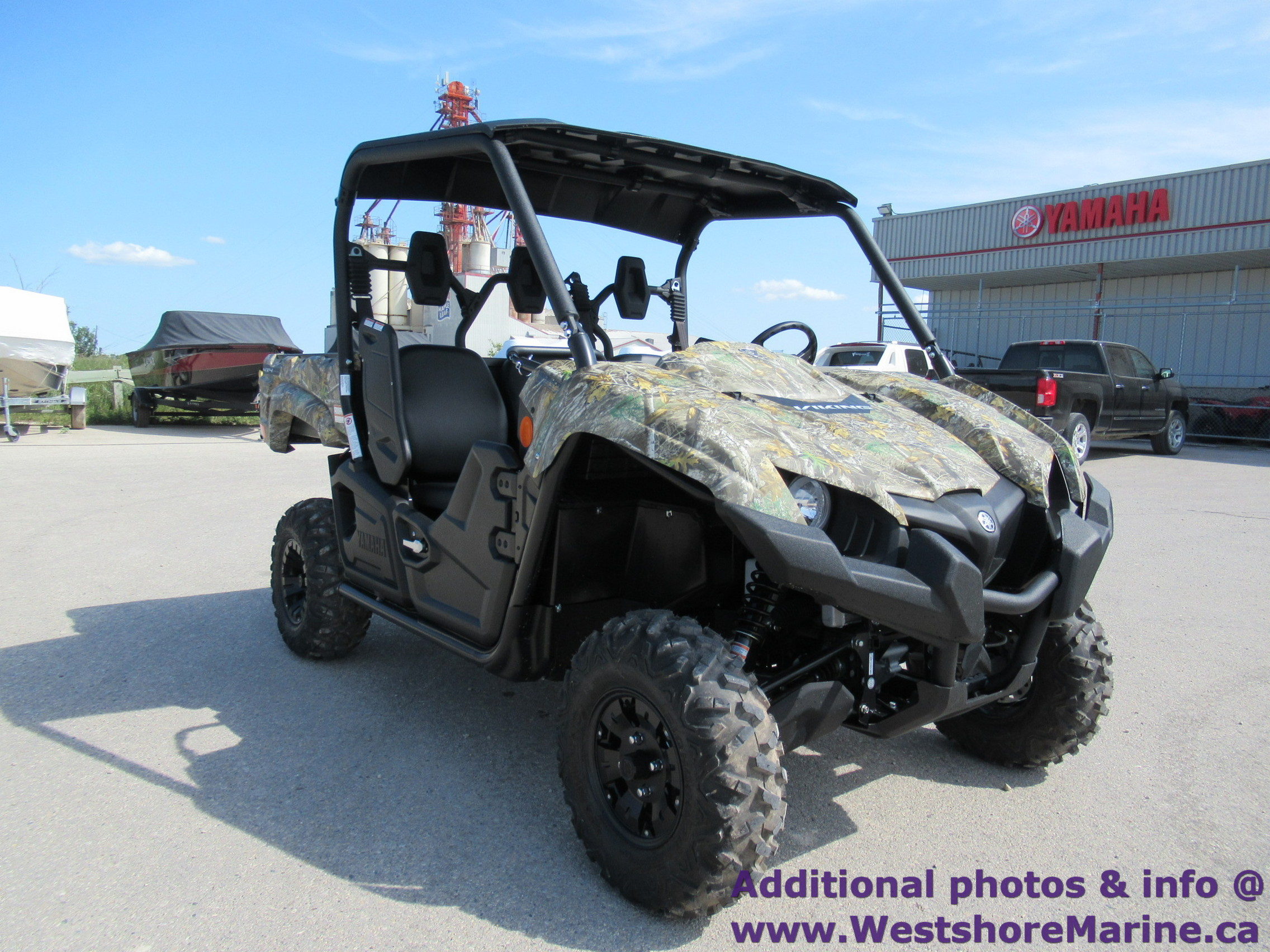 New 2019 YAMAHA Viking w/ Power Steering (Includes Freight & Setup)