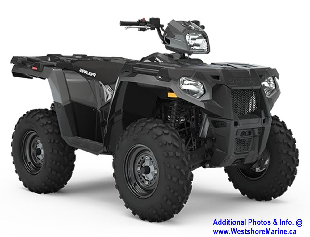 New 2020 POLARIS SPORTSMAN 570 EPS TITANIUM METALLIC