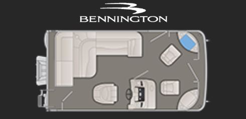 New 2019 Bennington 168 Fish & Cruise SF