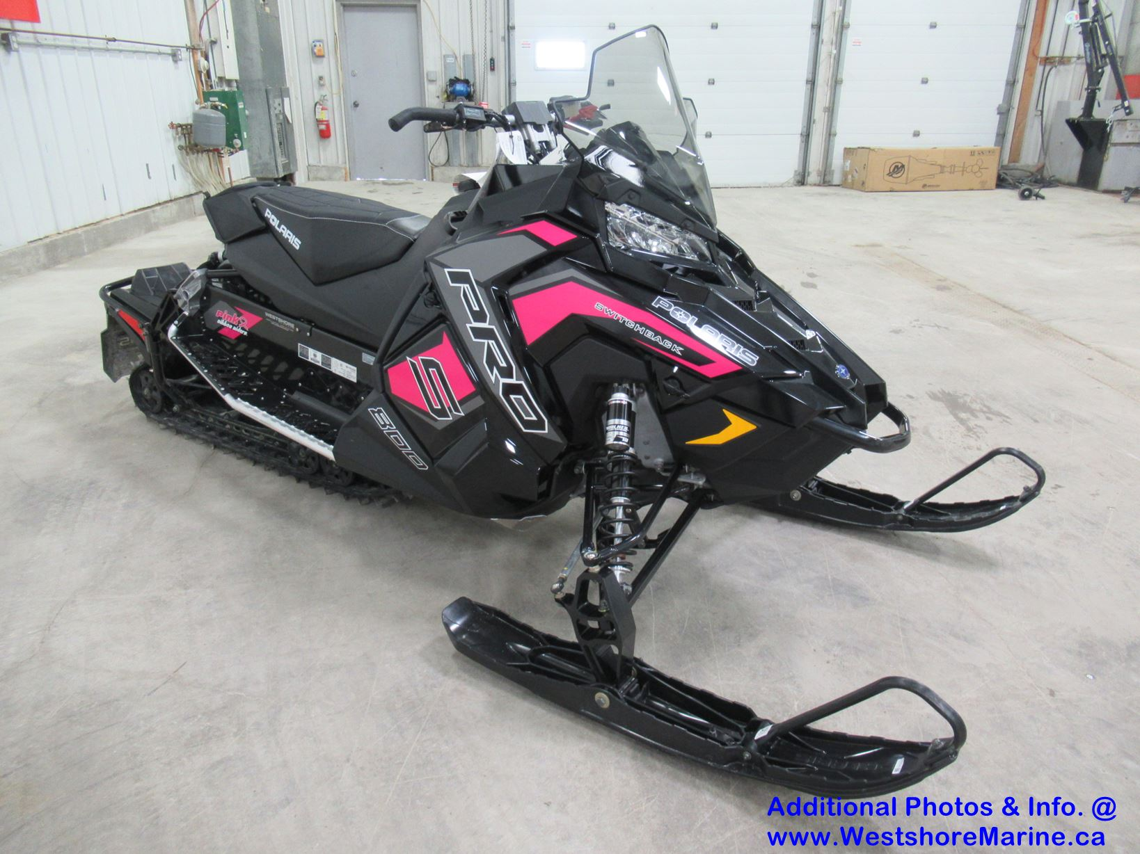 New 2019 Polaris 800 SWITCHBACK PRO-S PINK RIBBON RIDER EDITION ES!