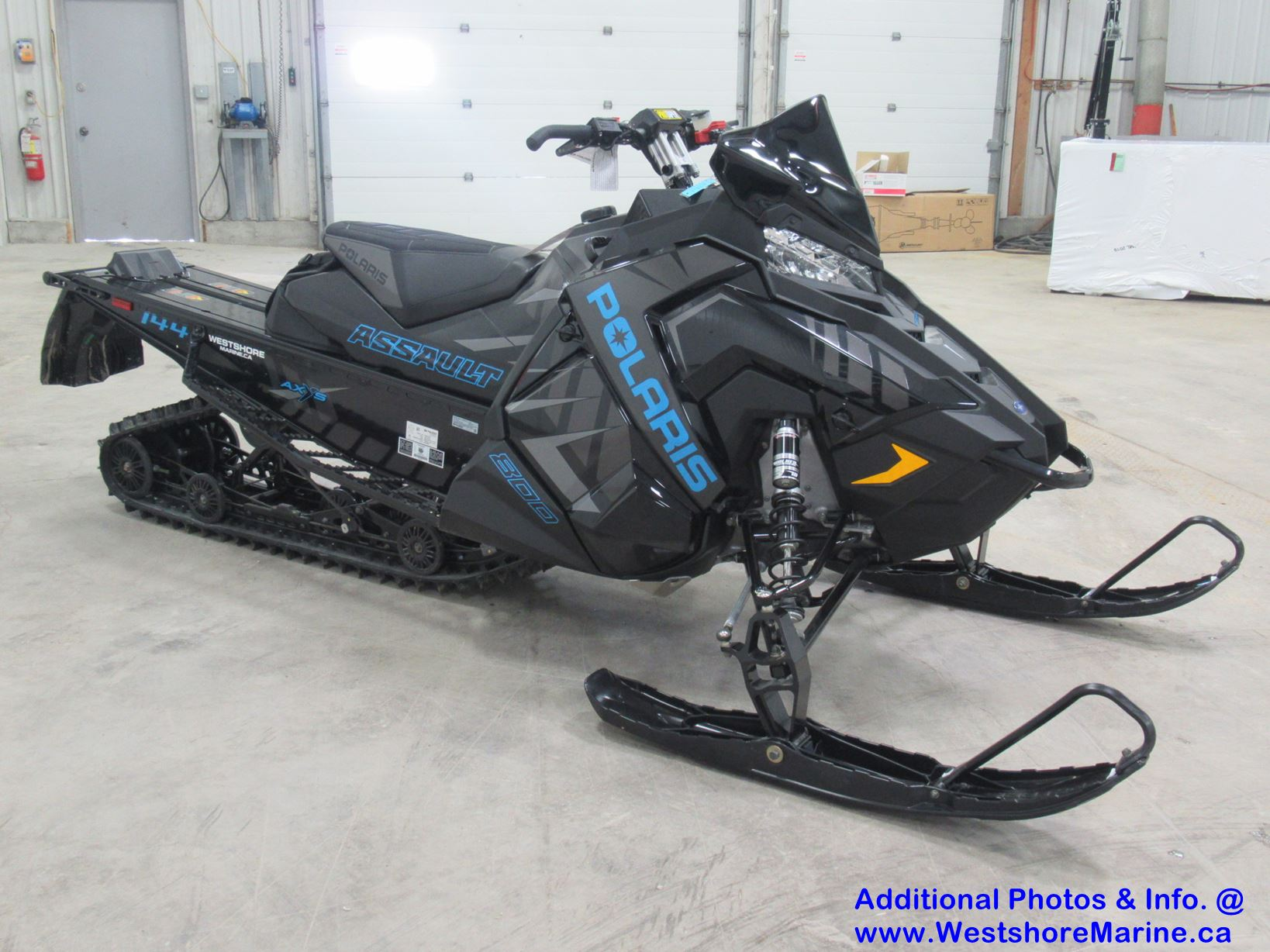 New 2020 Polaris 800 SWITCHBACK ASSAULT 144 Electric Start 1.6 Cobra