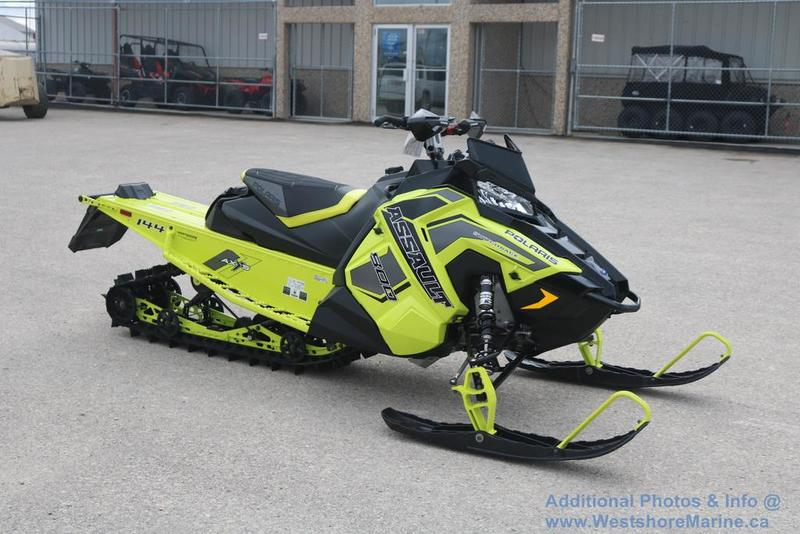 New 2019 Polaris 800 SWITCHBACK ASSAULT 144 SC-SELECT