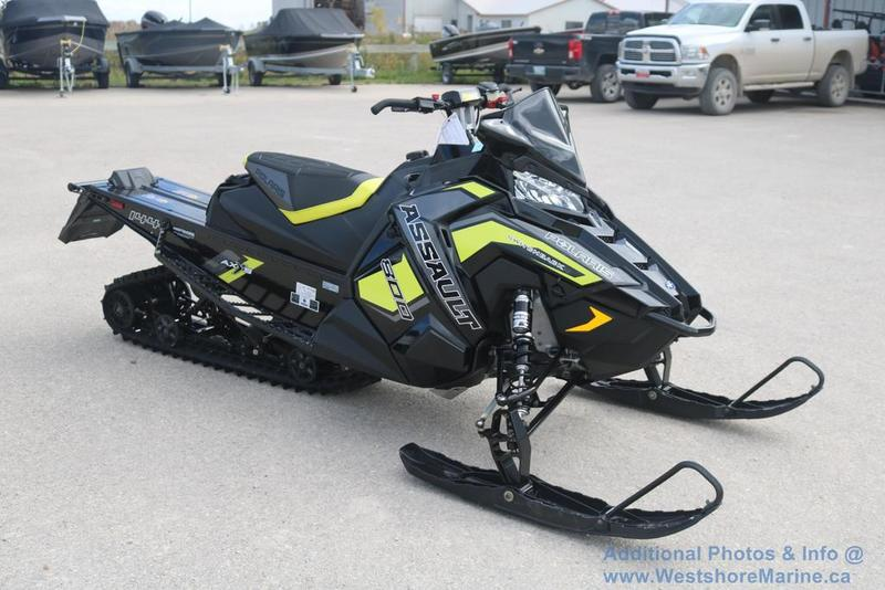 New 2019 Polaris 800 SWITCHBACK ASSAULT 144 SC-SELECT ELECTRIC START
