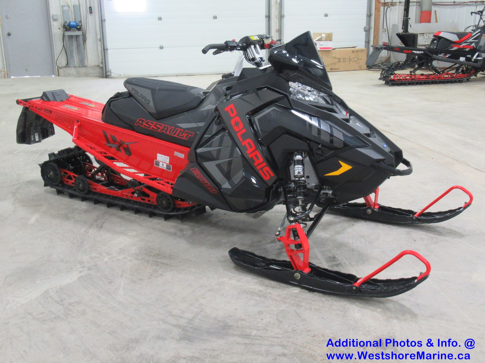 New 2020 Polaris 800 SWITCHBACK ASSAULT 144 Snowcheck Model