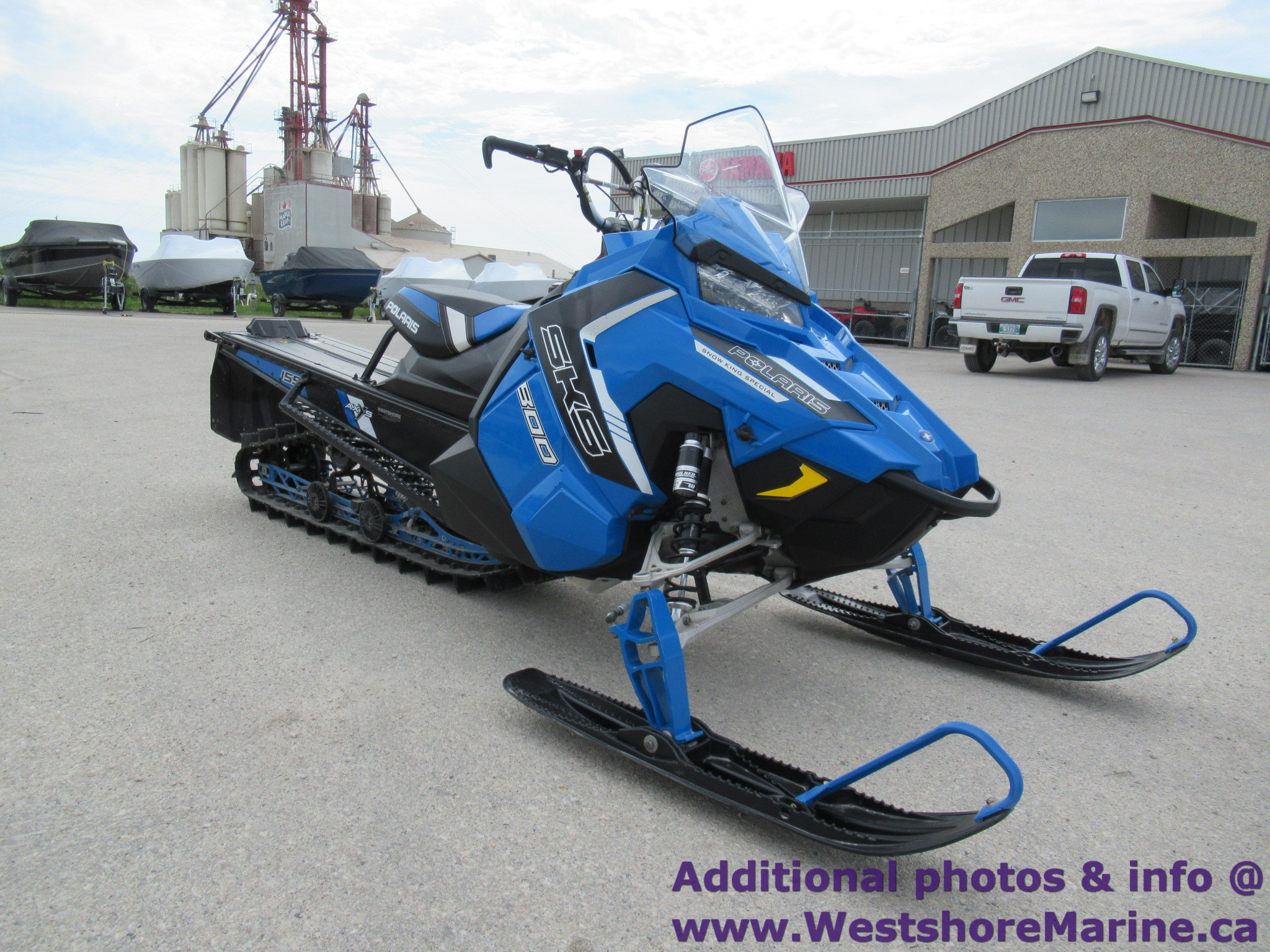 Pre-Owned 2016 Polaris 800 SKS 155 - Ready To Ride