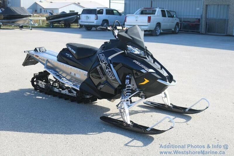 New 2018 Polaris 800 SKS 146 Electric Start!