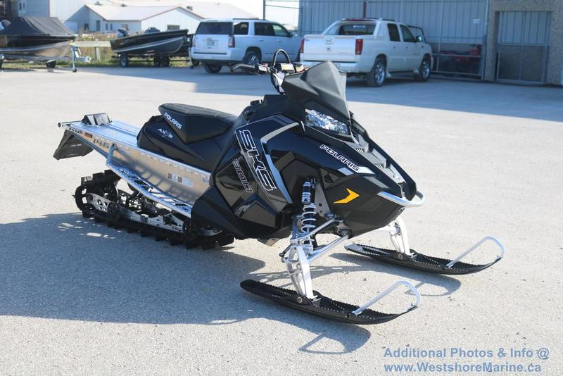 New 2018 Polaris 800 SKS 146 Electric Start