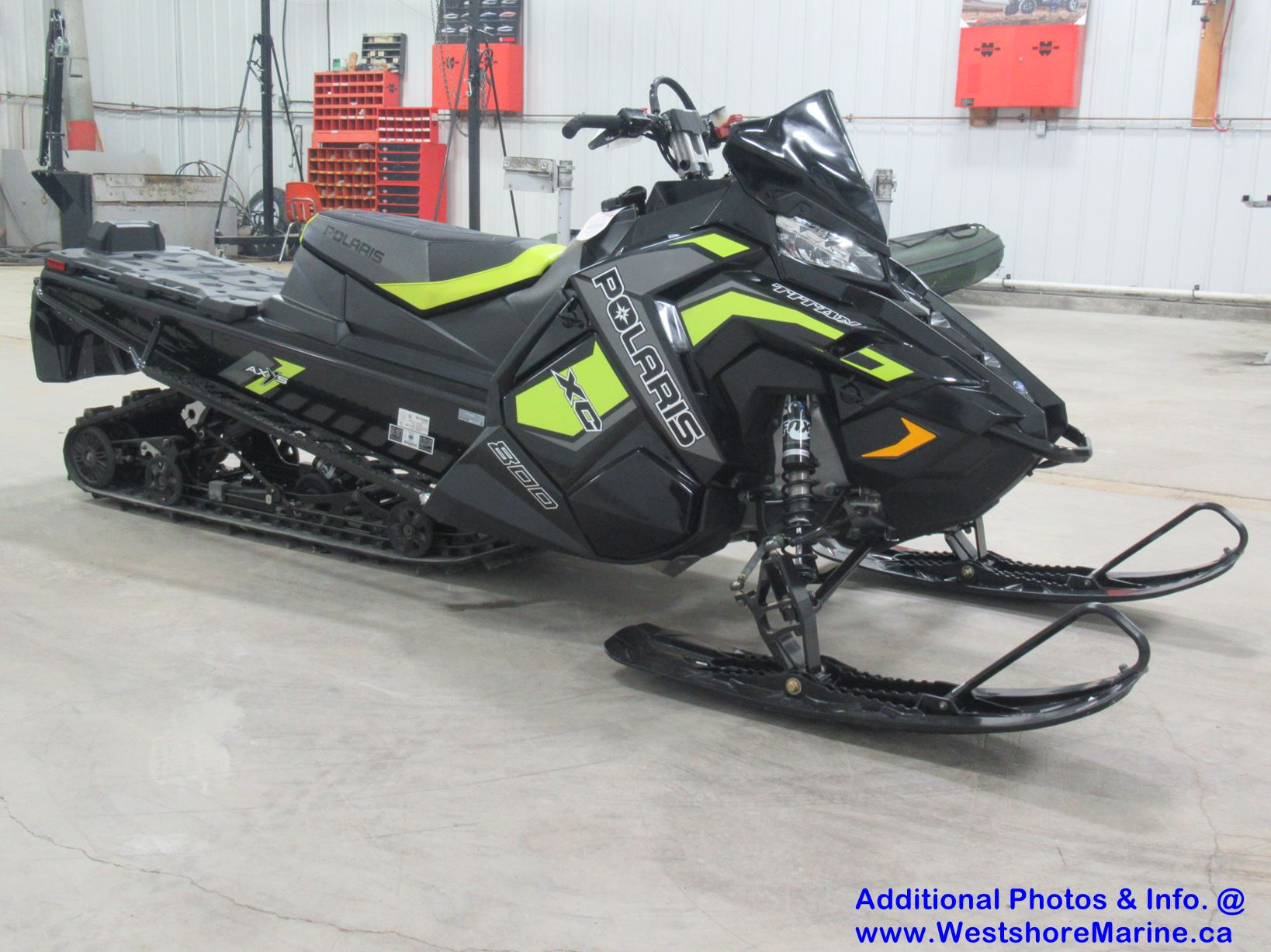 New 2019 Polaris 800 TITAN XC 155 / ELECTRIC START / PIDD GPS!