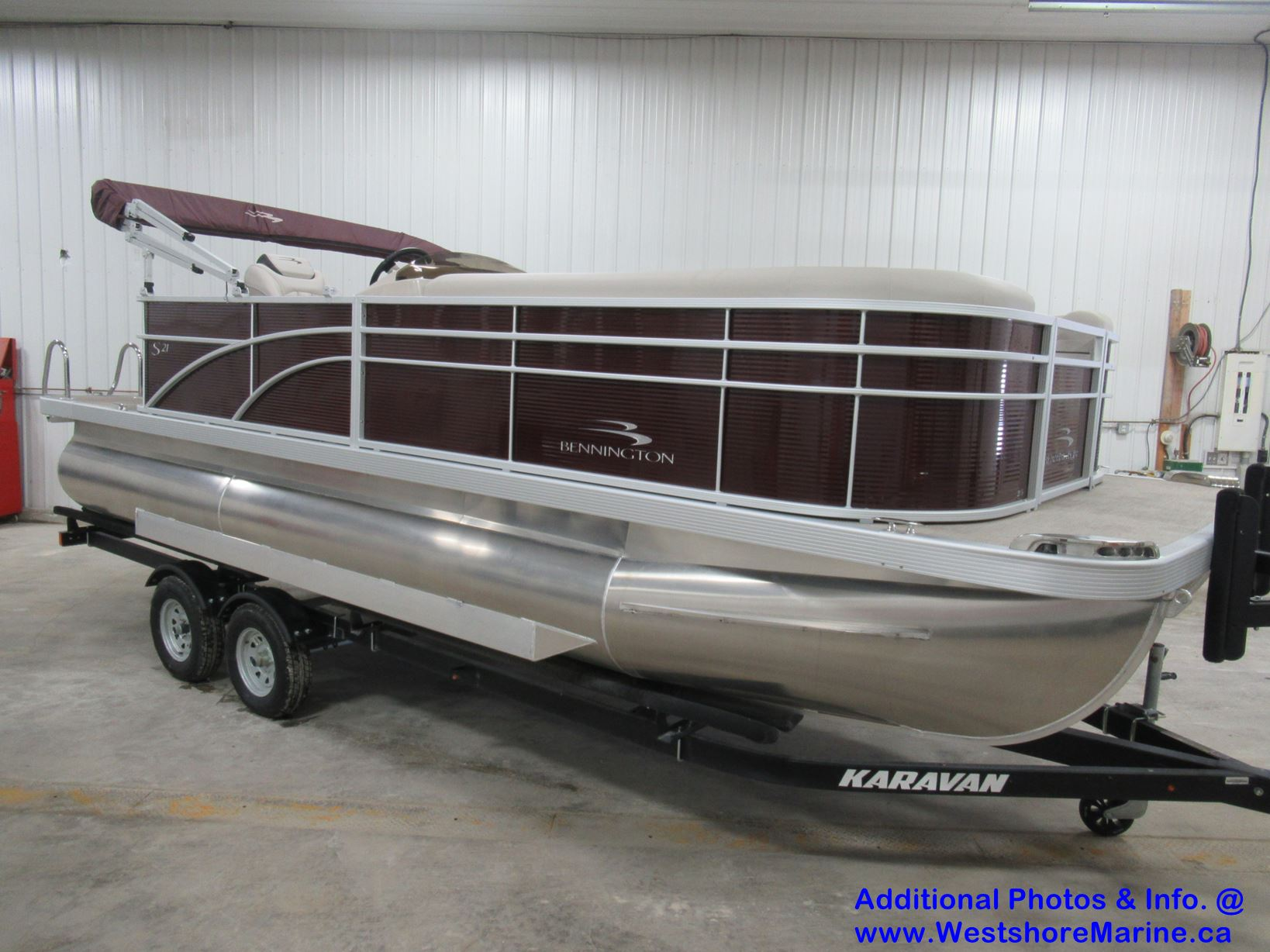 "New 2019 BENNINGTON 21 SL CRUISE (Performance 32"" Pontoons) - Free VIP Package Included!"
