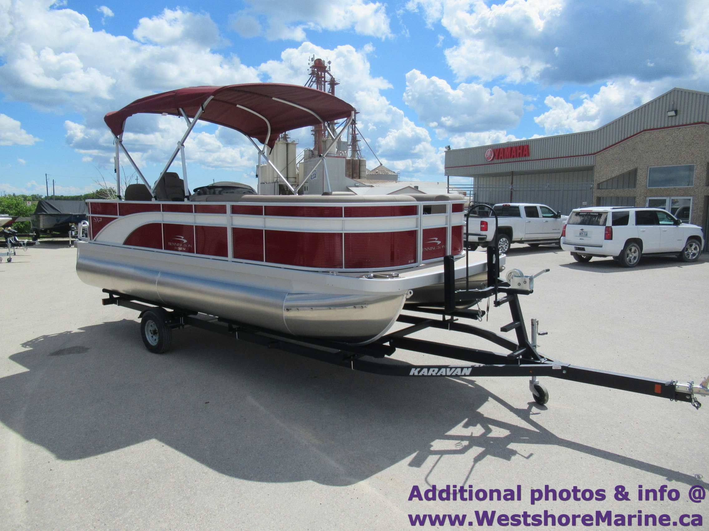 New 2019 BENNINGTON 21 S PREMIUM REAR FISH - Free VIP Package Included!
