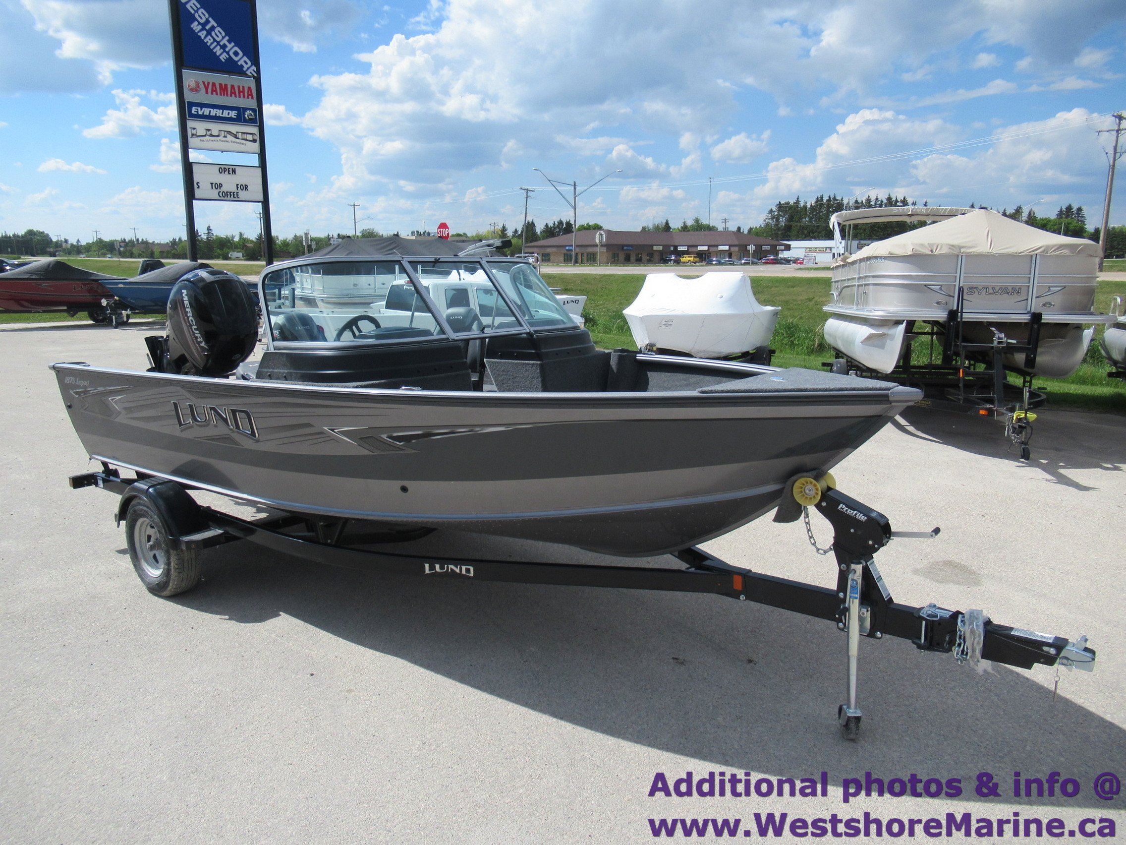 New 2018 LUND 1875 IMPACT SPORT (BOAT, MOTOR, TRAILER PACKAGE)