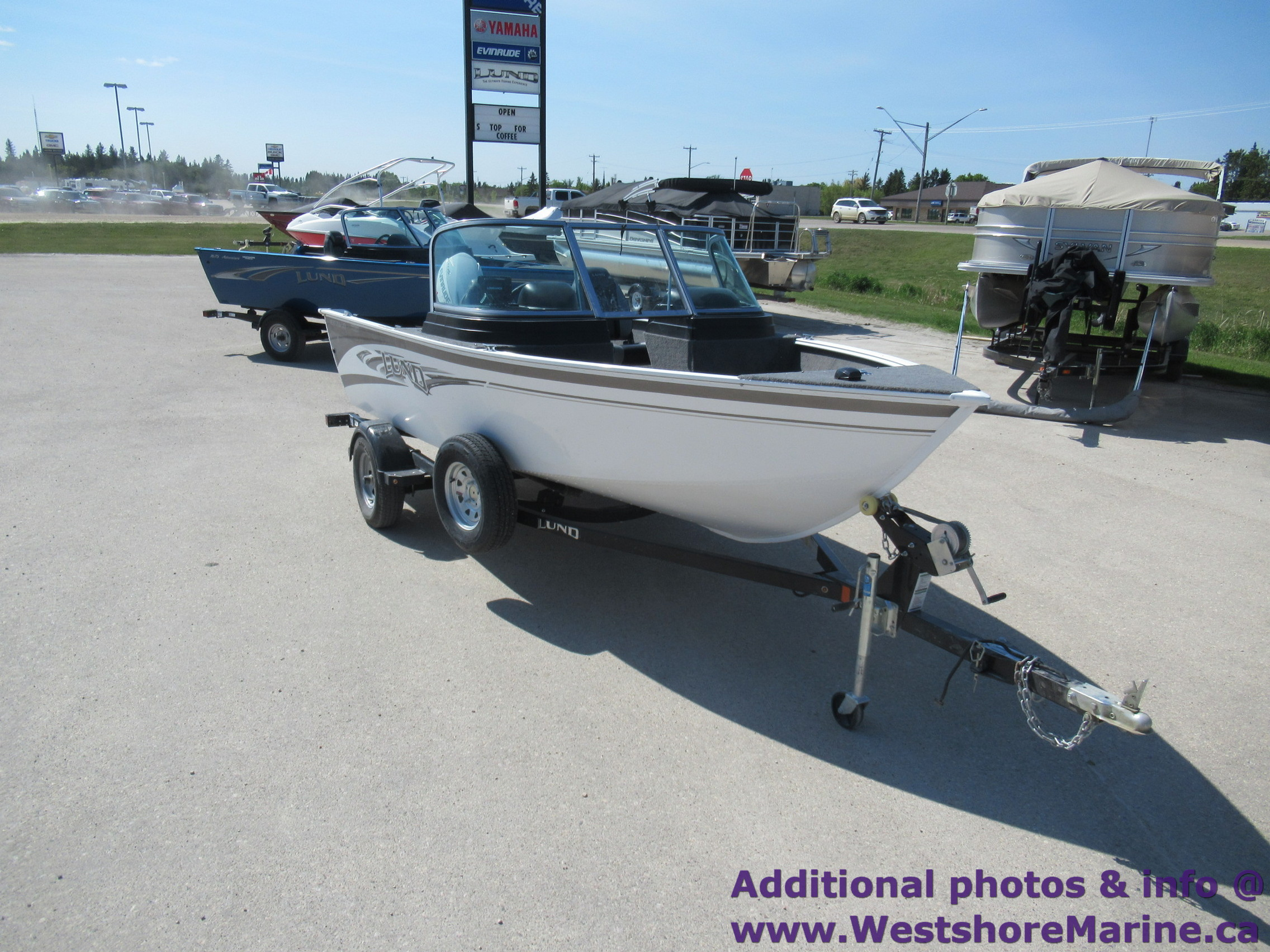 Pre-Owned 2017 LUND Rebel 1650 - 60HP Evinrude w/ 25 Hours!