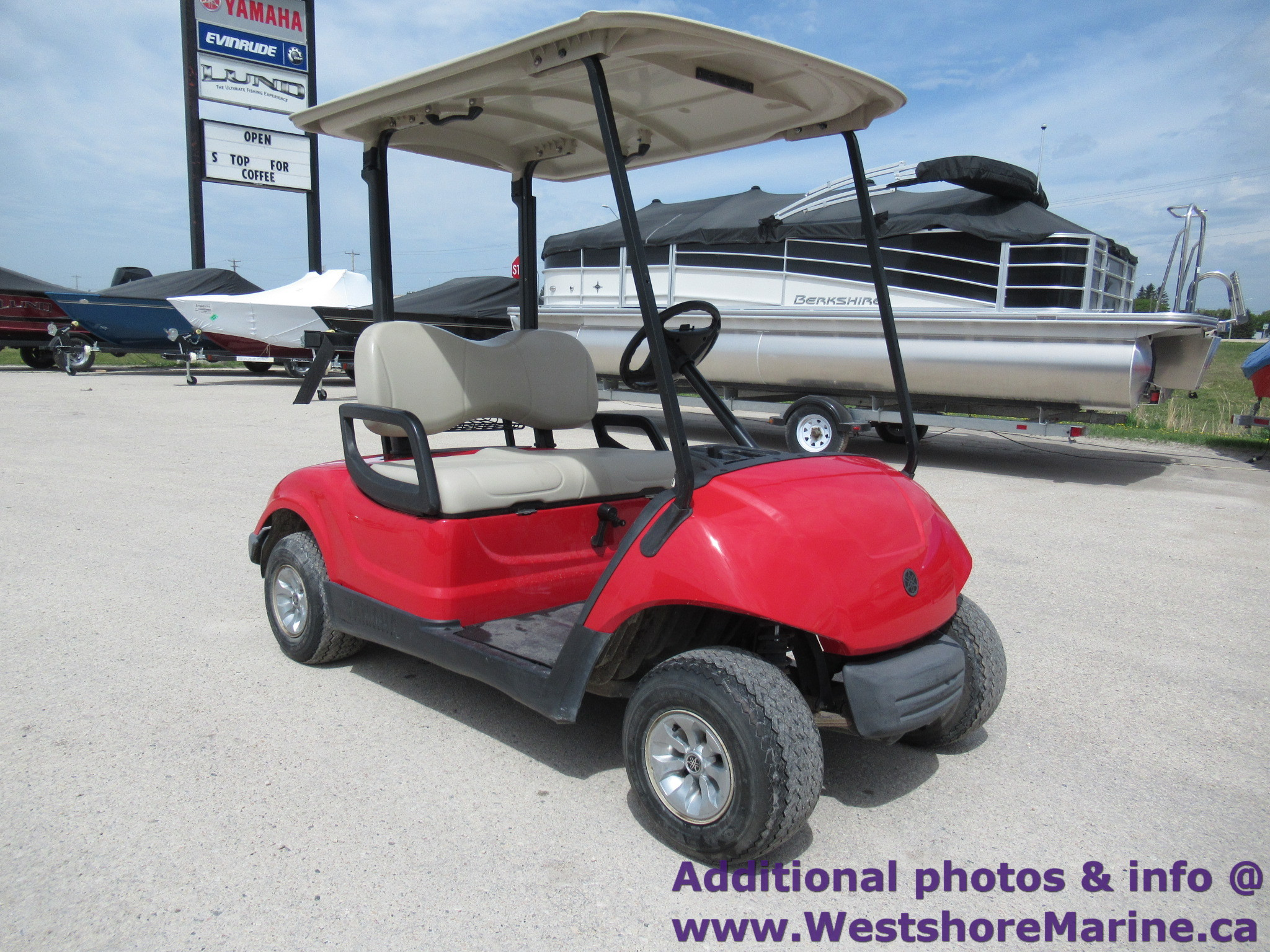 Pre-Owned 2013 YAMAHA GOLF CART