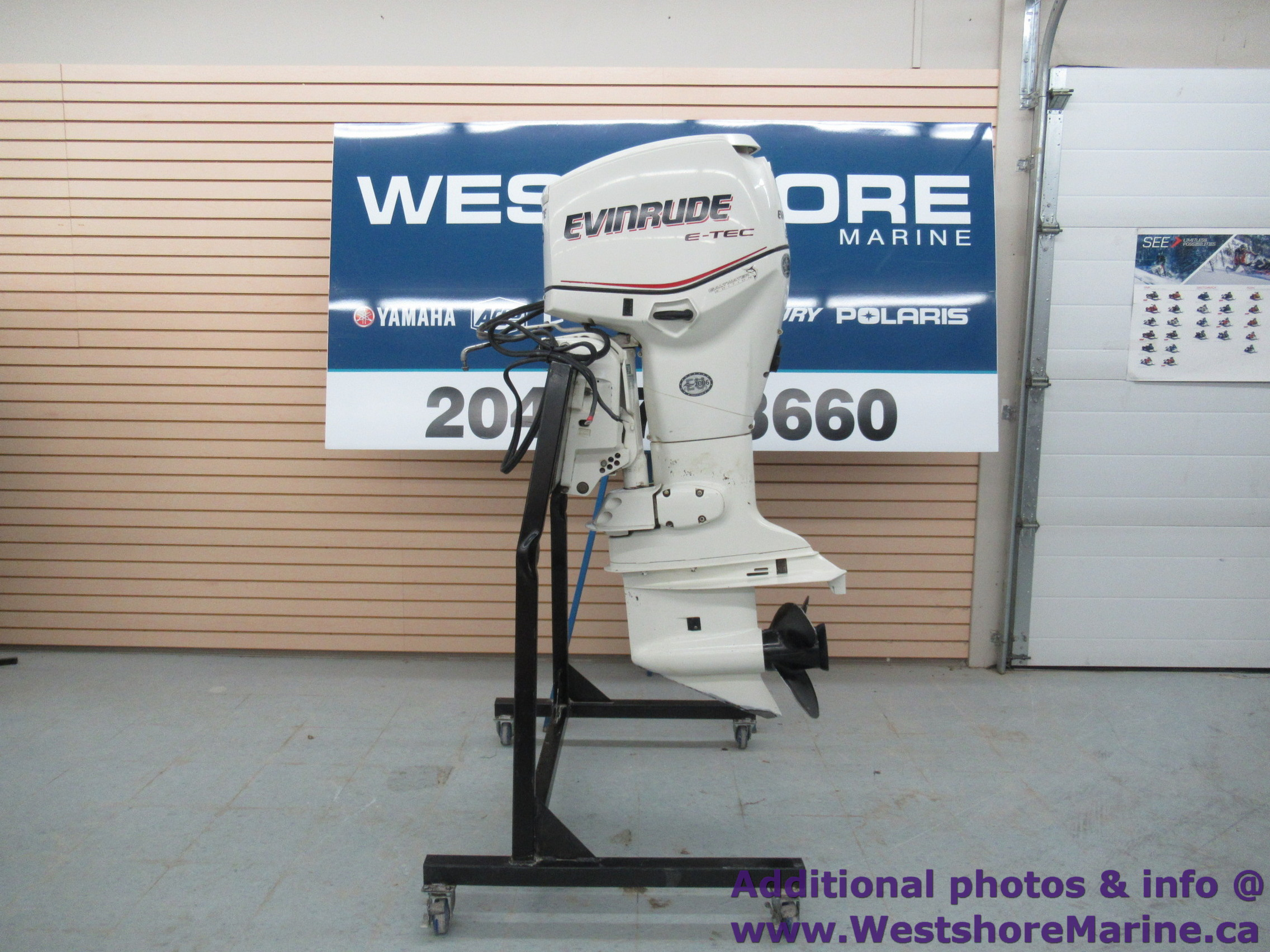 Pre-Owned 2005 EVINRUDE 90HP 25""