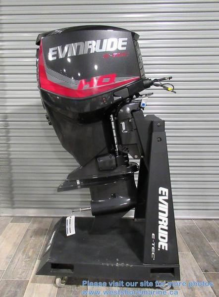 New 2018 EVINRUDE 135HP HIGH OUTPUT (H.O)