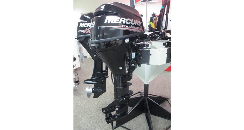 New 2019 MERCURY MARINE 9.9HP COMMAND THRUST PROKICKER FOURSTROKE 25