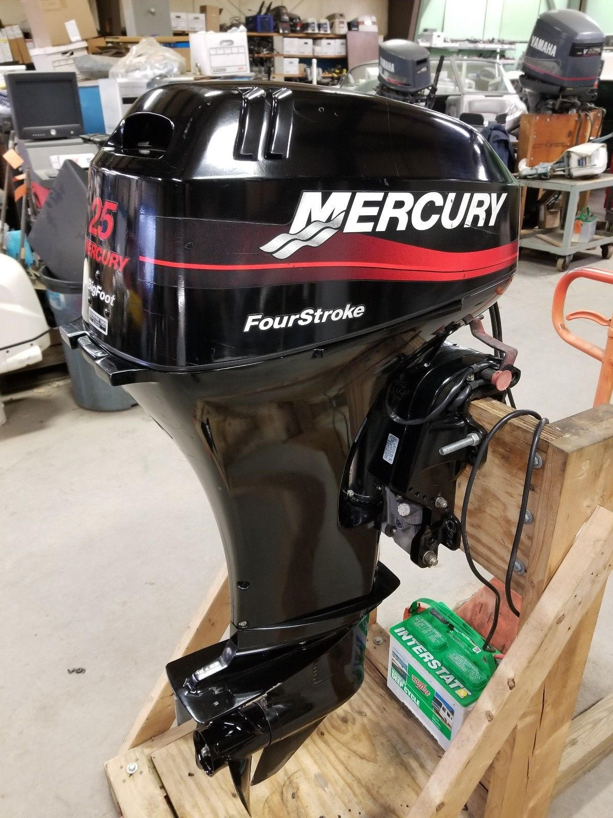 New 2018 MERCURY MARINE 25HP FOURSTROKE 20""
