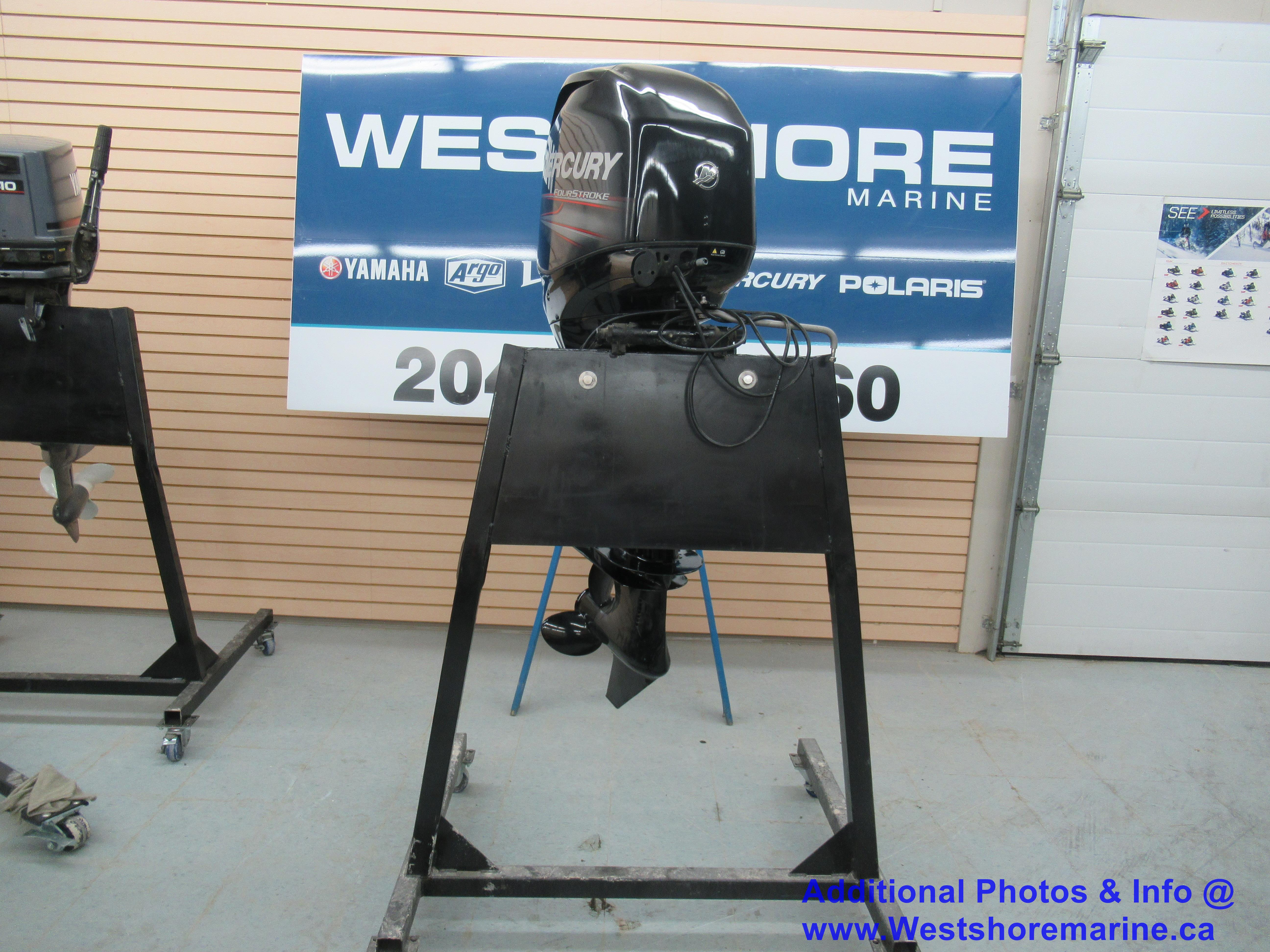 Pre-Owned 2017 MERCURY MARINE 60HP COMMAND THRUST - Only 1 Hour