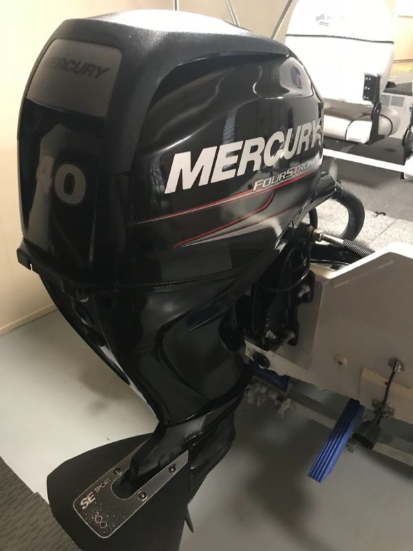 New 2019 MERCURY MARINE 40HP JET DRIVE OUTBOARD