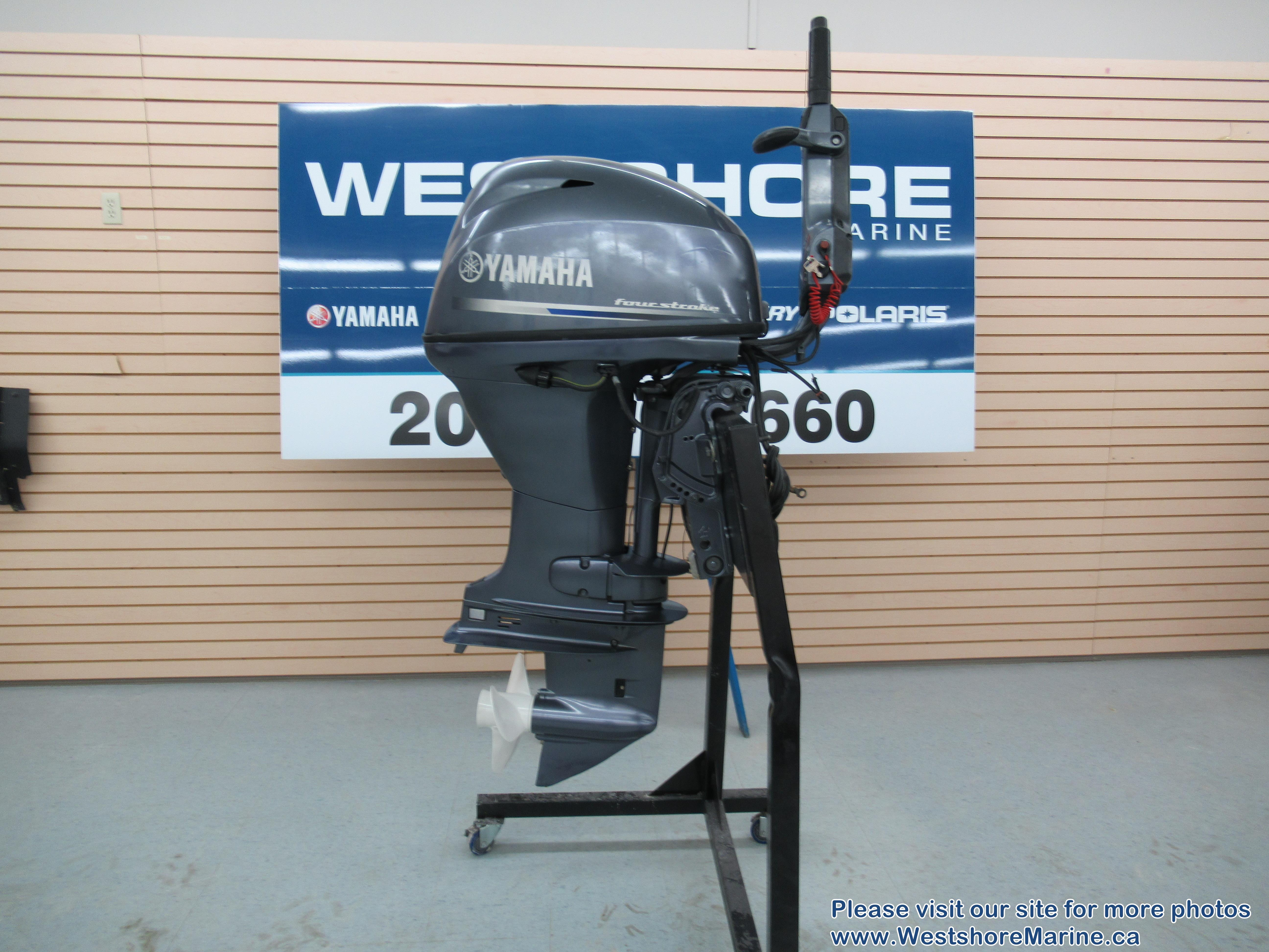 Pre-Owned 2009 YAMAHA F40 OUTBOARD