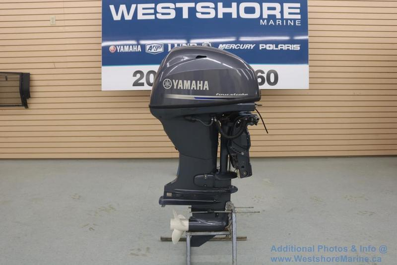 Pre-Owned 2014 YAMAHA F40 OUTBOARD *Only 42 Hours*