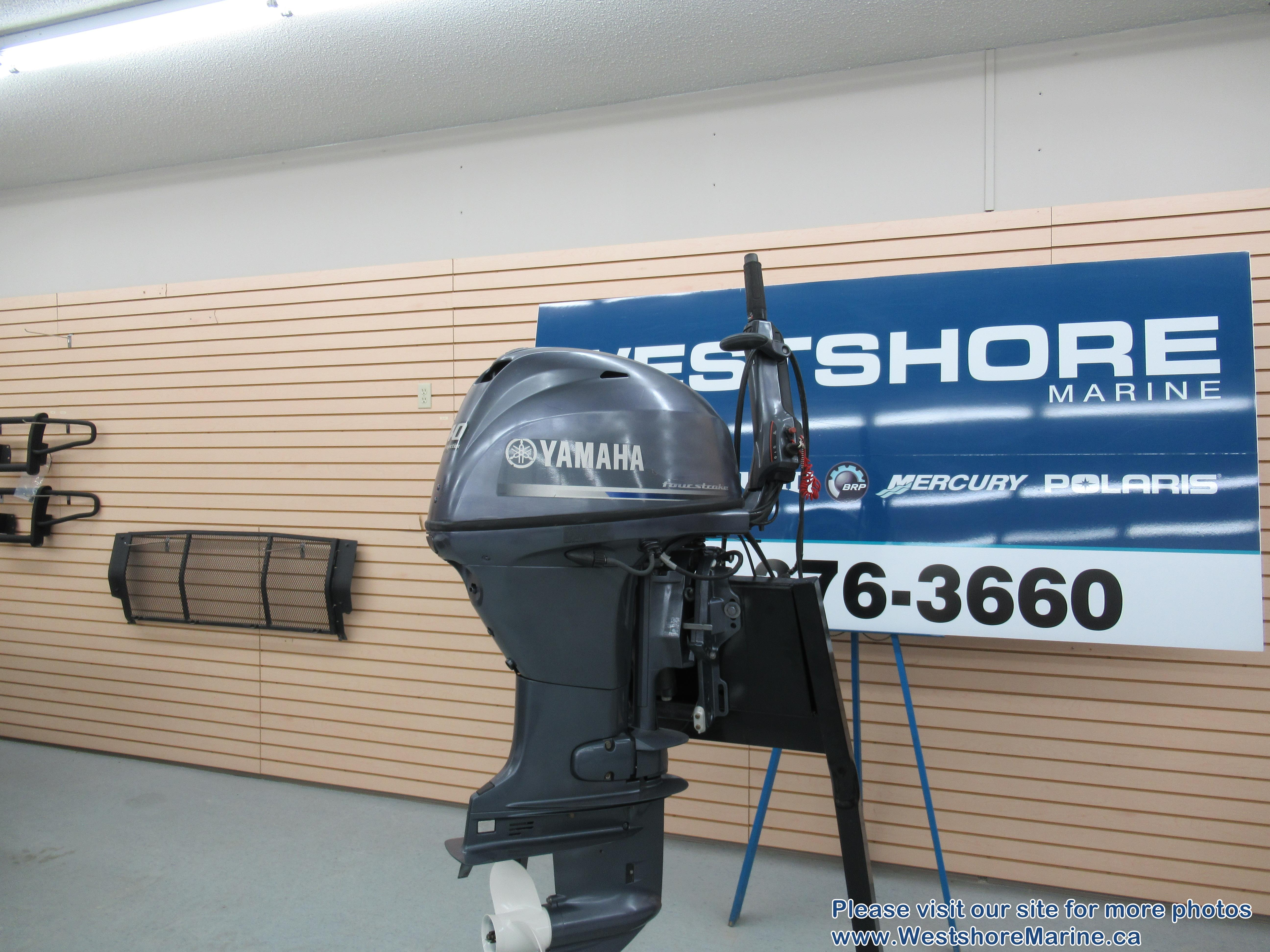 Pre-Owned 2013 YAMAHA F40 OUTBOARD